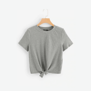 Blouse with Knot